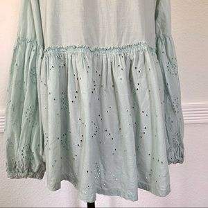 Susina Tops - COPY - Pre-owned Susina Eyelet Peasant Top Mint G…
